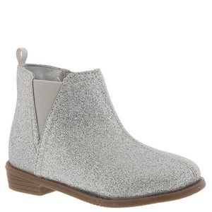 Carter's Toddler Girl Sparkly Silver Carmina Boots